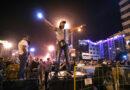 La policía interrumpe las protestas tras las elecciones presidenciales en Bielorrusia.