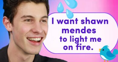 Shawn Mendes lee tweets de sed