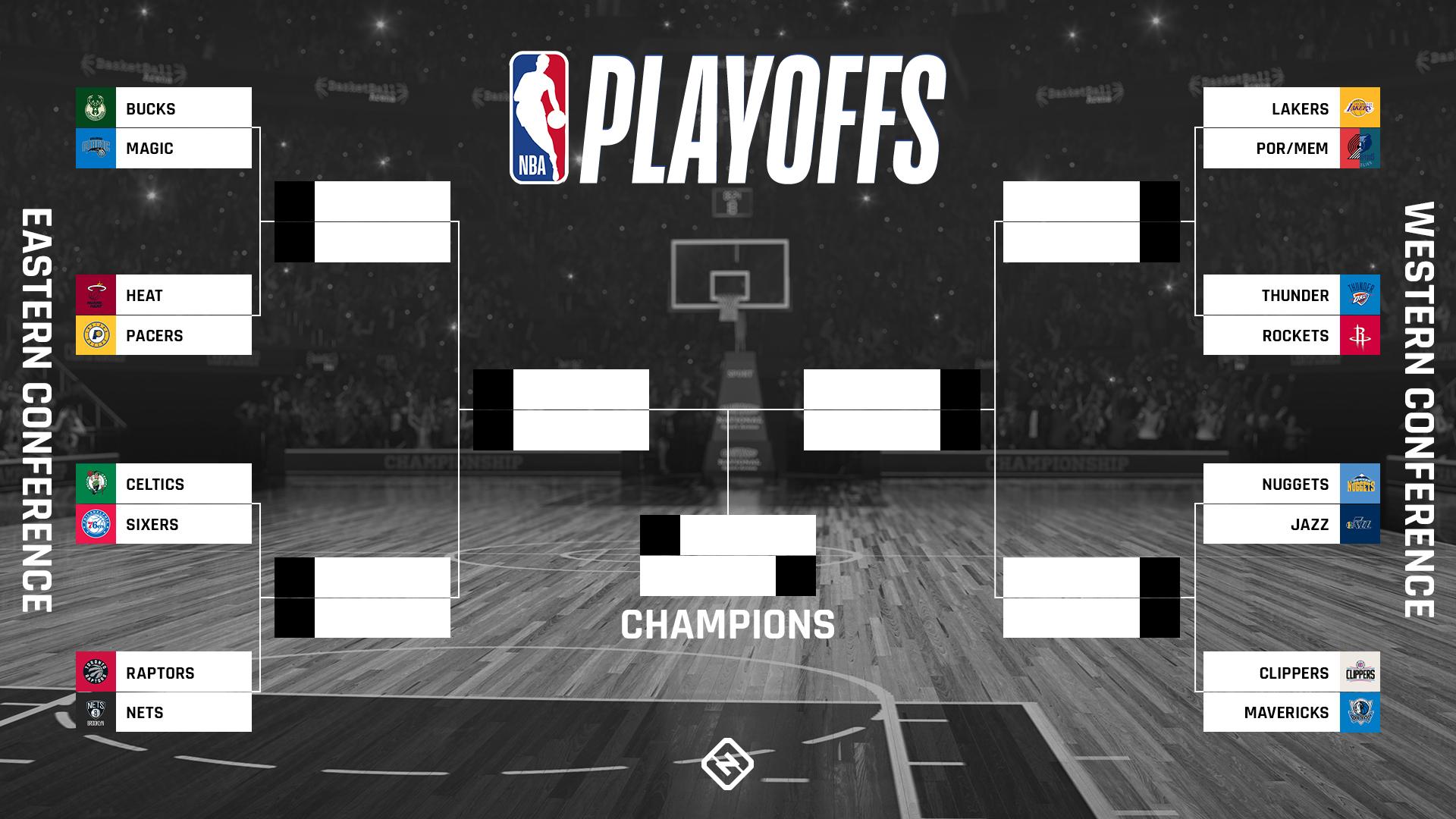 NBA Playoff Bracket 2020: Calendario de TV actualizado ...