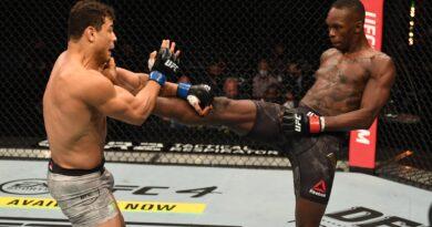 Resultados de UFC 253: Israel Adesanya avergüenza a Paulo Costa con nocaut técnico
