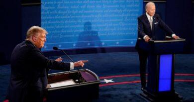 Joe Biden y Donald Trump chocan en un caótico debate presidencial