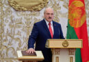 El líder autoritario de Bielorrusia, Alexander Lukashenko, quien tomó posesión en la ceremonia, se mantuvo en secreto.