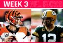 Consejos y predicciones de la NFL para la semana 3: los empacadores tratan a los santos;  Los bengalas entierran águilas;  Los mejores tejanos del Steeler