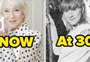 Cómo se veían las celebridades cuando tenían 30 años