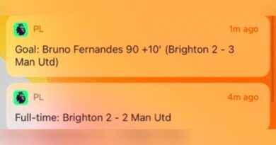 ¿Cómo ganó Bruno Fernandes del Manchester United contra Brighton después de que sonó el silbato de tiempo completo?