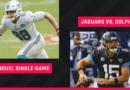 Jueves por la noche Fanático del fútbol americano Selecciones de duelo: Consejos de alineación de la NFL DFS para Jaguars vs.  Competiciones de Dolphins Single Game en la Semana 3