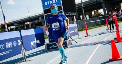 El corredor que venció a COVID-19 y luego corrió el maratón virtual de Nueva York 2020