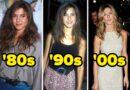 Celebridades en la década de 1980 vs.  hoy