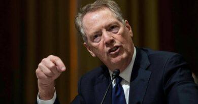 El jefe de comercio saliente de Estados Unidos dice que el principal candidato a la OMC no tiene experiencia