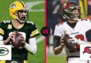 Tom Brady contra Aaron Rodgers le da a los Bucs-Packers la oportunidad de ser el mejor juego por el título de la NFC