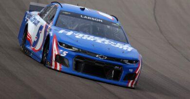 Resultados de NASCAR Las Vegas: Kyle Larson gana Pennzoil 400, primera victoria después de 2020 tiro, suspensión