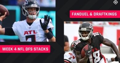 Best NFL DFS Stacks Week 4: selecciones de alineación para DraftKings, torneos FanDuel, juegos de efectivo diarios de Fantasy Football