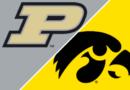 Resumen del juego Purdue vs.Iowa – 16 de octubre de 2021