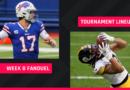 FanDuel selecciona la semana 8: consejos de alineación de la NFL DFS para los torneos diarios de GPP de Fantasy Football